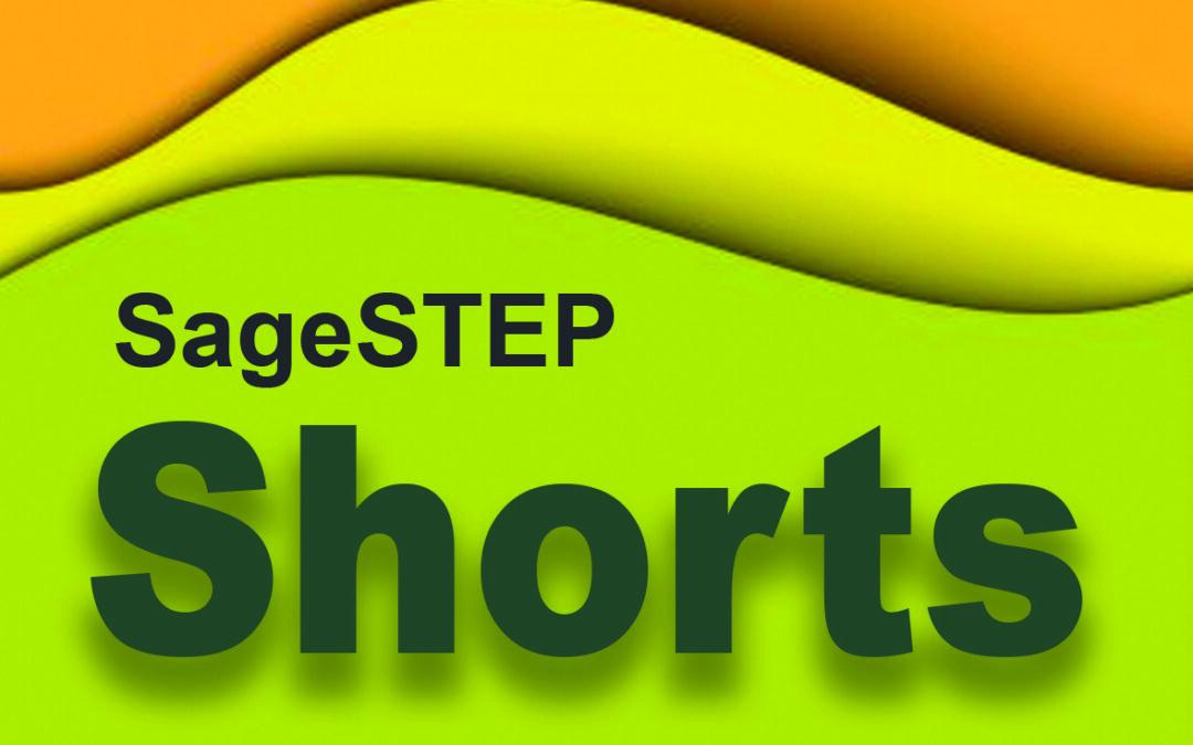SageSTEP Shorts